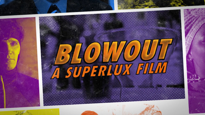 Blowout – Credit Sequence